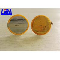 China Eco - Friendly CR2032 Battery With Solder Tabs Long Life 240mAh 3.0g wholesale