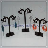 China Free Shipping Wholesale Earring Acrylic Jewelry Display Stand Holder 12set lot on sale