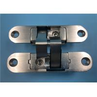 China Right Open Adjustable Concealed Hinges Zinc Alloy 180 Degree 35mm Thickness on sale