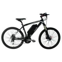 China 26 Inch Electric Assist Mountain Bike Carbon Frame 8 Speed 36V 250W wholesale