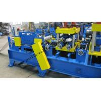China 20 KW Steel Frame C Purlin Roll Forming Machine For C / Z / U Shape Purlins wholesale