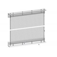 China Installation System Metal Mesh Drapery Spraying Coated Surface Treatment on sale