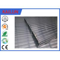 China Waterproof Aluminum Decking Flooring with 6000 series T4 / T5 / T6 Anodized Aluminium Profile wholesale