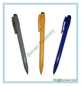 China side click hotel promo ballpen, logo printed simple pen wholesale