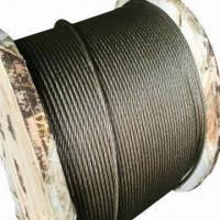 China Ungalvanized Steel Wire Ropes with 6 to 64mm Diameter wholesale