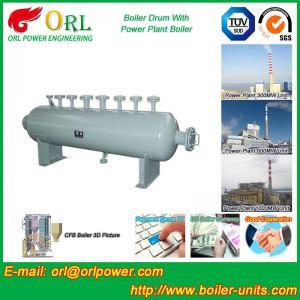 China 100 Ton biogas boiler mud drum ORL Power ASME certification manufacturer wholesale