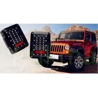 China Newest USA And European Version LED Brake Light , Led Tail Lights For Jeep Wrangler wholesale