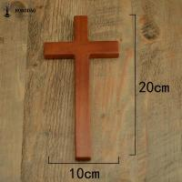 China OEM Design Small Size Handheld Handcrafted Wooden Crosses Painted For Crafts wholesale