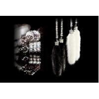 China DAD LUXURY MINK CRYSTAL CHAIN wholesale