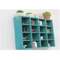 China Eco - Friendly Indoor Storage Cabinets Wall Hanging Cube Storage Shelf Units wholesale