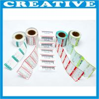 China printed adhesive packaging label wholesale
