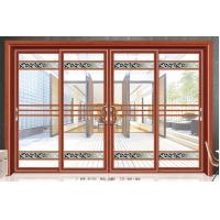 China Large Outdoor Residential Glass Sliding Doors Aluminium Frame 5mm+6A+5mm wholesale