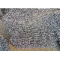 Green / Black / Blue Rock Filled Wire Cages Corrosion Resistance Free Sample