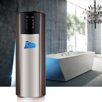 China WiFi Air Source Heat Pump Water Heater With Solar Coil  And CE Certification wholesale
