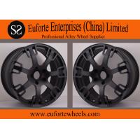 China SS wheels-Aftermarket Forged 20 inch Wheels Matte Black Custom Rims for Trucks wholesale
