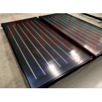 China Aluminum Blue Absorber Flat Plate Solar Collector Hotel Solar Hot Water Heater wholesale