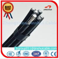4 * 50mm Overhead Electrical Cable , Quaduplex Pvc Sheathed Cable For Power Line