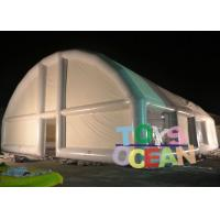 China Customized White Inflatable Wedding Tent Trade Show Party Large Tent For Outdoor wholesale