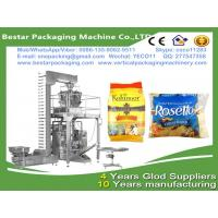 China MultiHead Weigh Filling VFFS Packaging Machine for Bags food packing equipment for frozen dumplings & frozen ravioli wholesale