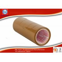 China Waterproof Strong Opp Brown BOPP Packaging Tape , Plastic Glue Low Noise Packing Tape wholesale