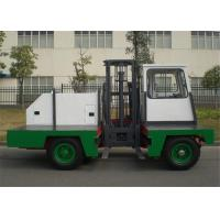 China 2000kg Lifting Capacity Electric Side Loader Forklift Mast Height 3.5 Meter wholesale