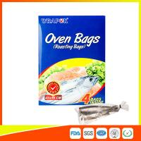 China PET Oven Cooking Bags Heat Resistant For Fish / Meat / Turkey Eco Friendly wholesale