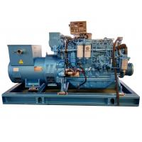 Buy cheap Water Cooling Rated Marine Diesel Generator 90KW with Three Phase Electric Start from wholesalers