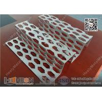 China 530X2000mm Aluminium Perforated Metal Facades for  interior and exterior aesthetics building wall wholesale