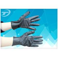 China Dip Flock Lined Medical Disposable Gloves For Electronic And Instrument Industry wholesale