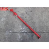 China Red Powder Coating Adjustable Shoring Posts / Lightweight Acrow Props wholesale