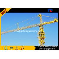 China Slewing Speed 0.6 R/Min City Lifting Building Tower Crane Jib Length 50M wholesale