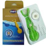 China Dental floss pick with one dental floss yarn wholesale
