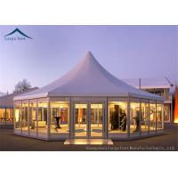 China Multi-Sided Party Tents With Glass Wall wholesale