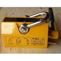 China Unique Electro Permanent Magnetic Lifter , Yellow Steel Magnetic Lifter on sale