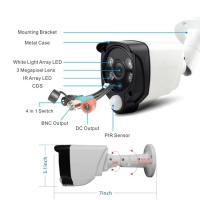 China 2.0Megapixel sony cmos PIR Motion Detect and Dual Light System Smart Alarm Camera wholesale