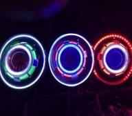 "China Jeep JK Wrangler 7"" HID & LED Headlights 7 Color Options wholesale"