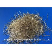 Wholesale High Tensile Copper Coated Concrete Steel Fibers For Concrete Layer from china suppliers
