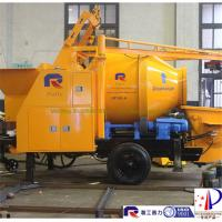 Quality good service electric small portable concrete mixer pump with high quality, for sale