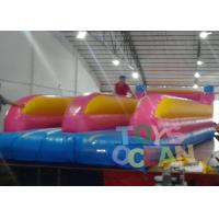 China Customized Inflatable Sport Game Jumping Trampoline Bungee Run For Sport wholesale