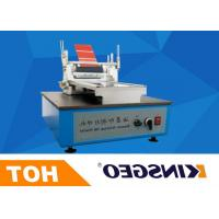China 220V 50Hz 120W Printing Coating Testing Machines With Micrometer Control with Weight 26KG on sale