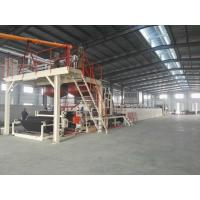 China Automatic Tile Production Line / Bitumen Backed Carpet Tiles Water - Cooling Control wholesale