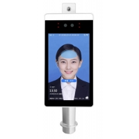 China Face Recognition 1280 X 960 Thermal Floor Standing Temperature Scanner wholesale