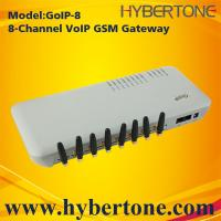 Buy cheap 8 SIM Channels GSM VoIP Gateway GoIP-8 Quad band IMEI chang SMS for VoIP terminal from wholesalers