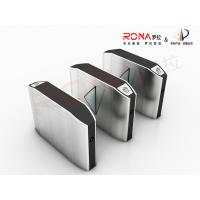 China Indoor Automatic Flap Barrier Gate Self Checking For Intelligent Office Building wholesale