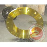 China Alloy Steel 42CrMo4 Ring Flange Open Die Forging For Gas Pipe Industry , EF + LF + VD wholesale