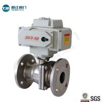China ASME B16.34 Stainless Ball Valve of Petrol Chemical Valve with Motorized Actuator wholesale