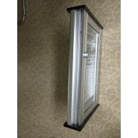 Quality 1.2mm Clear PVC Glass Window Shutters / Rolling Adjustable Louvers Window for sale