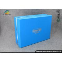 Buy cheap Luxury Cardboard Apparel Packaging Box With Logo Printed / Shirt Packaging Boxes from wholesalers