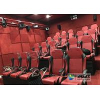 China Electric / Pneumatic System 5D Movie Theater With 3 DOF Motion Chair In The Cinema Hall wholesale