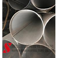 China Hydraulic Round Rolled Welded Steel Tube High Precision Cold Drawn on sale